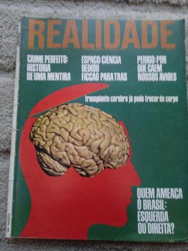 Revista Realidade Nº 23 -de 1968 . Politica Prop. Sumario