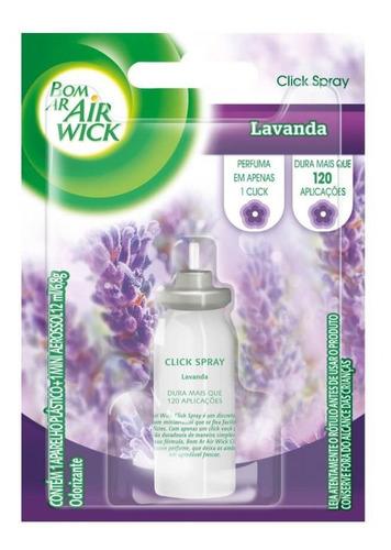 Bom Ar Lavanda Desodorizador Spray Refil 12ml