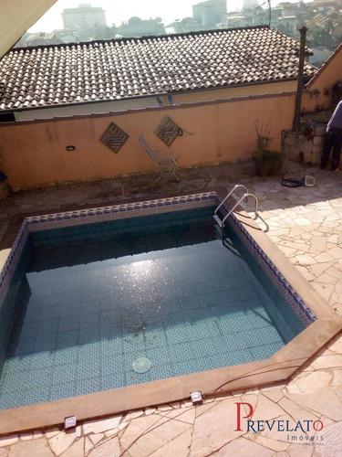 Imagem 1 de 15 de Sb-7212 - Linda Casa Com Piscina, 6 Vagas Garagem - Mogi - Sp - Sb-7212