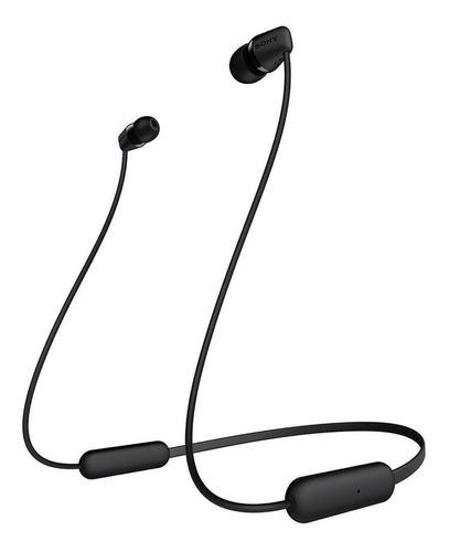 Imagen 1 de 3 de Audífonos in-ear inalámbricos Sony WI-C200 negro