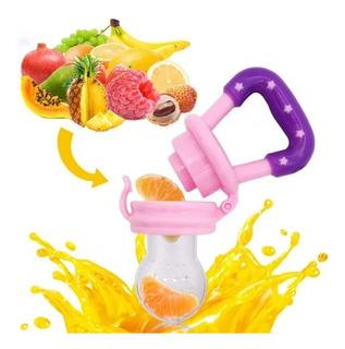 Chupete Alimentador Malla En Silicona Para Frutas Para Bebé