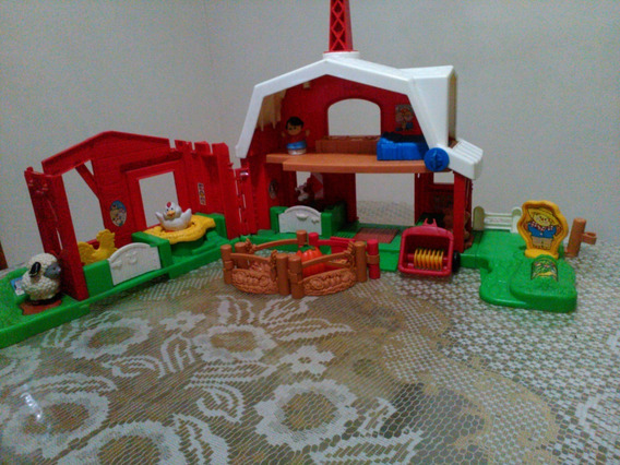 Granja Sonidos Fisher Price Y Muñecos Fisher Price 30 Verdes