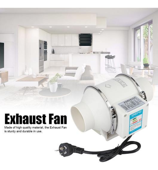 para Cocina y ba/ño para Dormitorio Ventilador de ventilaci/ón de Montaje en Pared s/úper silencioso Crisis Extractor de ba/ño