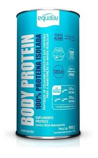 Body Protein 450g Equaliv 100% Proteína Isolada Colageno