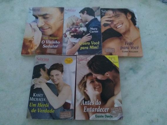 Lote Livros Sabrina Romances