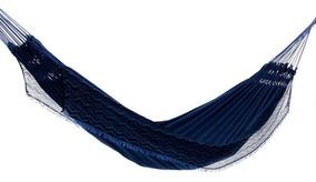 1592f29d2ece73 Rede De Dormir Casal Jeans Life Azul