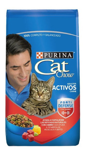 Cat Chow Adulto Activo Forti Defense 8 Kg