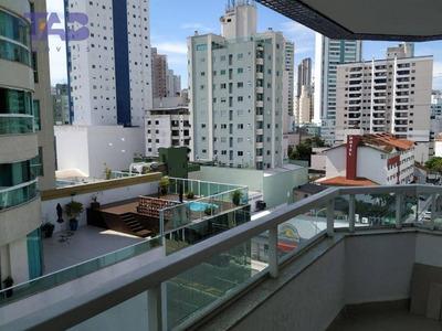 Apartamento Com 3 Dormitórios Para Alugar Por R$ 2.600/mês - Centro - Balneário Camboriú/sc - Ap0817