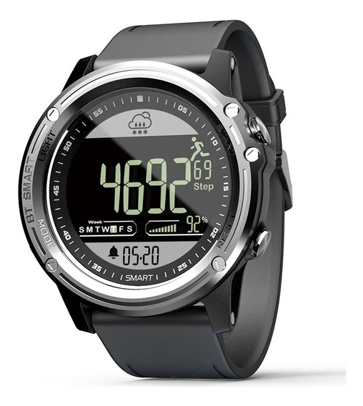 Relógio Inteligente Unissex Lokmat Mk06 Ip68 Impermeável Com