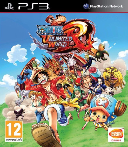 One Piece: Unlimited World Red - [ps3] Lacrado