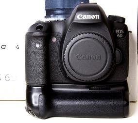 Câmera Canon 6d (corpo + Grip)