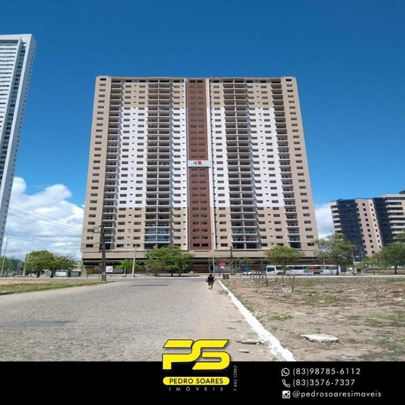 Apartamento Com 2 Dormitórios Para Alugar, 63 M² Por R$ 1.800/mês - Aeroclube - João Pessoa/pb - Ap3295