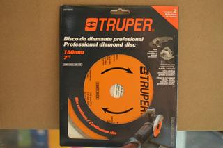Disco De Diamante Profesional. Truper. Ddt-804c