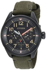 Relógio Citizen Chandler Black Bu2055-16e Eco-drive Calendar