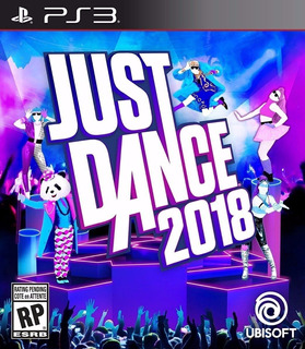 Just Dance 2018 Ps3 Original Entrega Inmediata