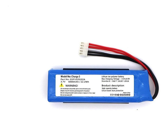 Bateria Para Jbl Charge 3 Gsp1029102a 330sl E 320sl