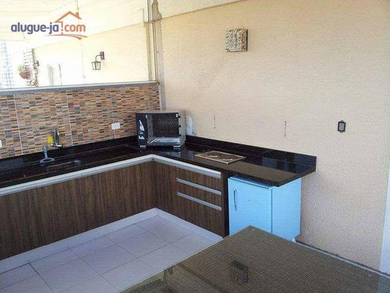 Cobertura Com 3 Dormitórios À Venda, 116 M² Por R$ 340.000,00 - Jardim América - São José Dos Campos/sp - Co0039