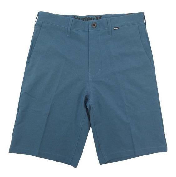 Bermuda Passeio Hurley Nike Dri-fit Azul Escuro 635392