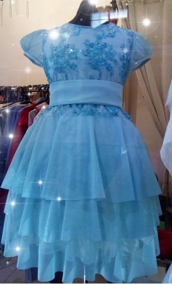Vestido De Fiesta Y O Cortejo Para Niña, Color Nuevo