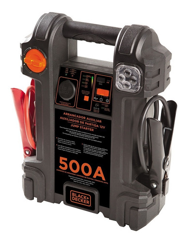 Auxiliar De Partida Para Automóveis Black+decker Js500s 12v