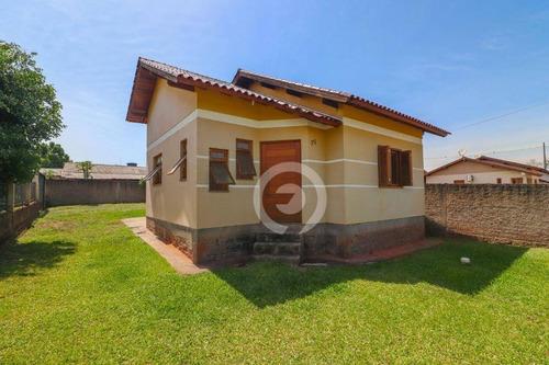 Imagem 1 de 14 de Casa Com 3 Dormitórios À Venda, 70 M²- Das Quintas - Estância Velha/rs - Ca1060