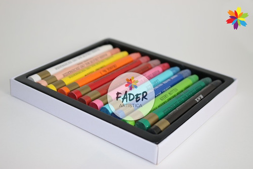 Crayon Acuarelable Mungyo X 12 Colores Barrio Norte