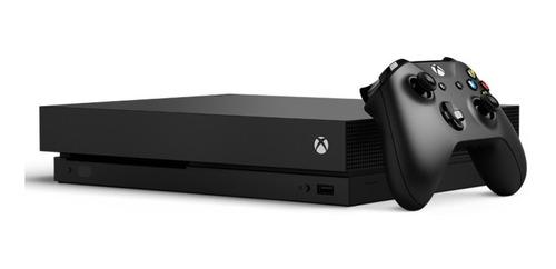 Xbox One X 1tb En Caja Con Todos Los Accesorios Y Cargador