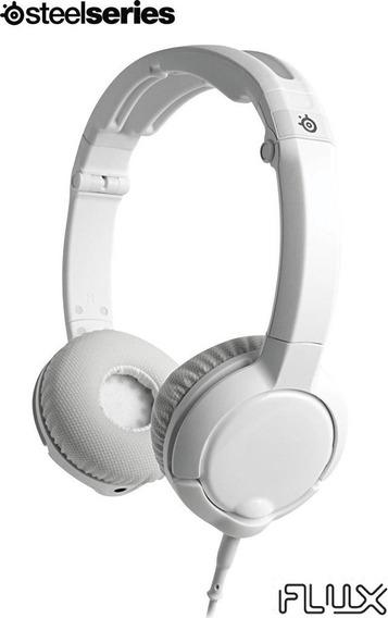 Fone De Ouvido Headset Flux Branco 61279 (steelseries, De 30