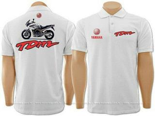 Camisa Gola Yamaha Tdm 900