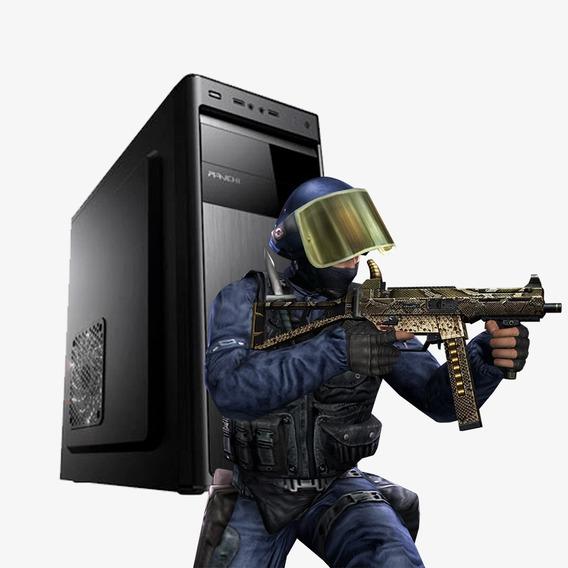 Pc Gamer Strike Core 2 Quad, 8gb Ram , Hd 500gb, Gt 710 2gb