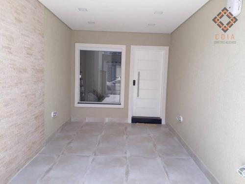 Sobrado Com 3 Dormitórios À Venda, 125 M² Por R$ 890.000,00 - Vila Brasílio Machado - São Paulo/sp - So8482