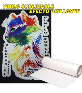 Vinilo Blanco Sublimable Termotransferible Moritzu 0.50cmx1m