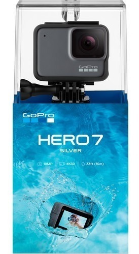 Câmera Filmadora Gopro Hero 7 Silver 10mp 4k Wifi