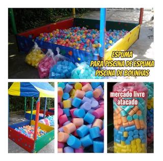 Espumas Para Piscinas Buffet Kit Com 100 Unidades Promoção