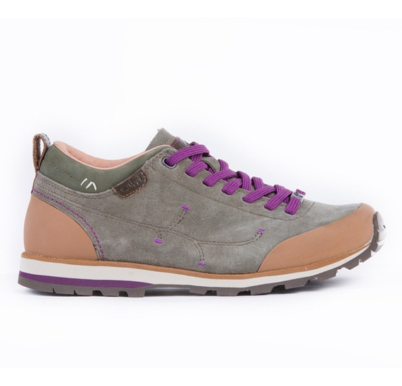 Zapato Mujer Woods Low Verde Lippi