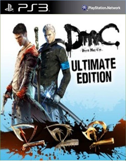 Dmc Devil May Cry Ultimate +dmc Hd Collection Ps3 (no Disco)