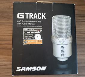 Microfone Condensador Samsom G-trak Usb