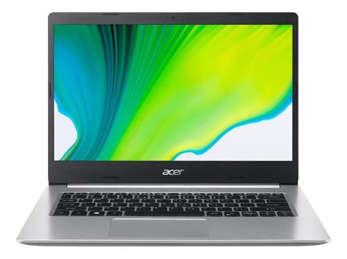 "Notebook Acer Aspire 5 A514-53 prata 14"", Intel Core i3 1005G1  8GB de RAM 512GB SSD, Intel UHD Graphics 60 Hz 1366x768px Windows 10 Home"