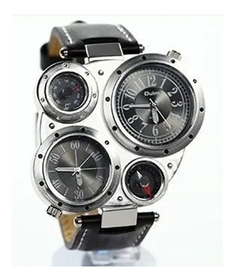 Relógio Masculino Militar Russo Bússola E Termômetro Fusos