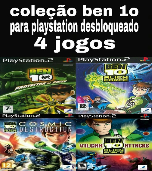 Ben 10 Coleção Para Playstation 2 Desbloqueado