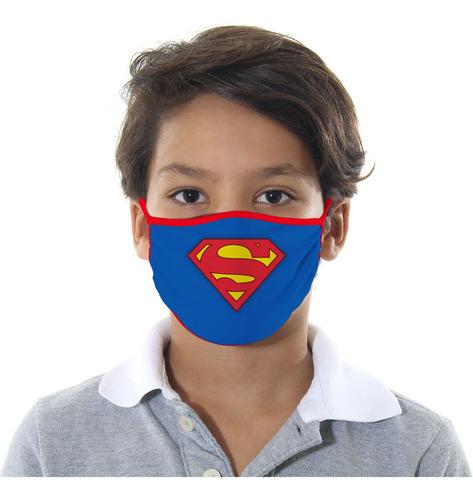 Mascara De Protecao Super Homem Infantil M
