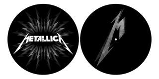 Metallica 2 Slipmat Para Tornamesa Nuevo Importado