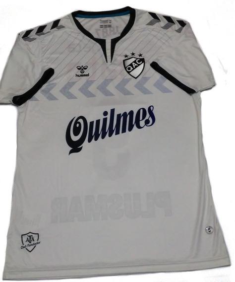 Camiseta De Quilmes Titular 2019 Hummel Con Numero