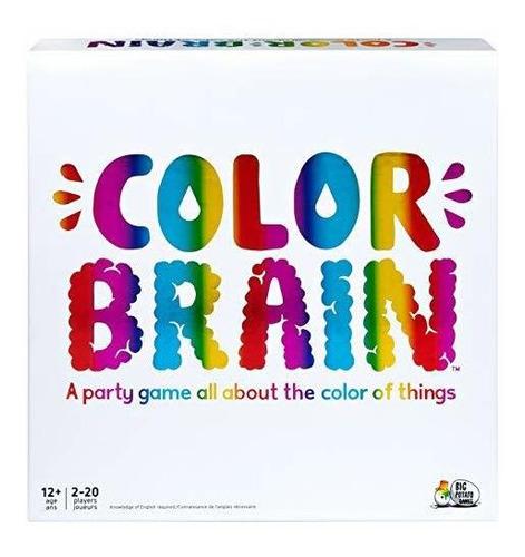 Colorbrain, El Mejor Juego De Mesa Familiar, Para Adolescent