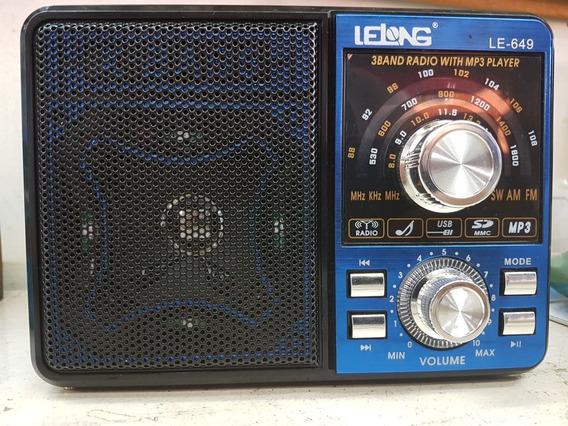 Radio Estilo Antigo Com Bluetooht Usb Sd E Fm