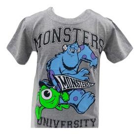 Camiseta Infantil Monstros S A Mike E Sullivan 02 Ao 10 Anos
