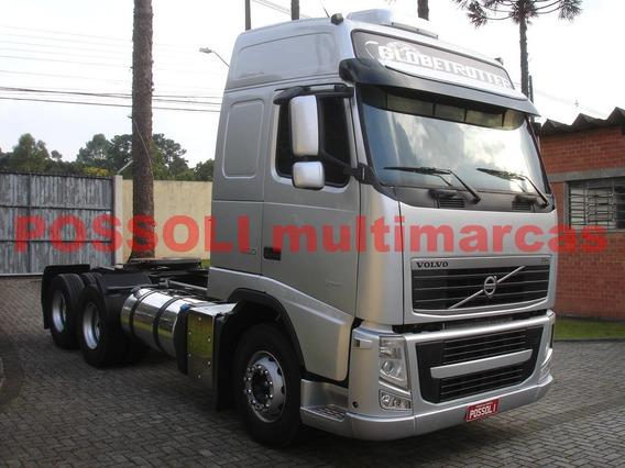 Volvo Fh Globetrotter 460 2014 6x2 400.480km Aut. Completo!