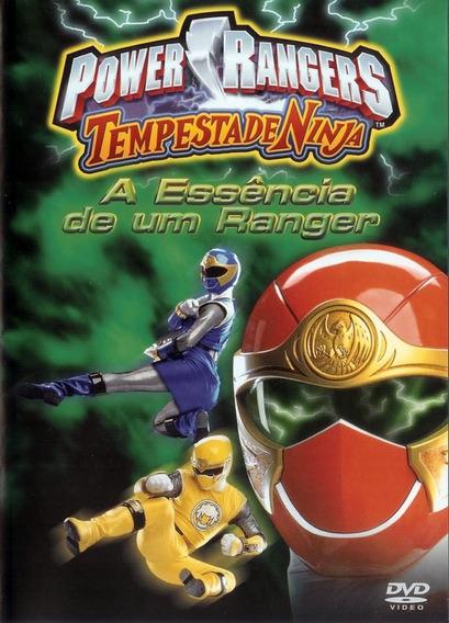 Dvd Power Rangers A Essência De Um Ninja - Original