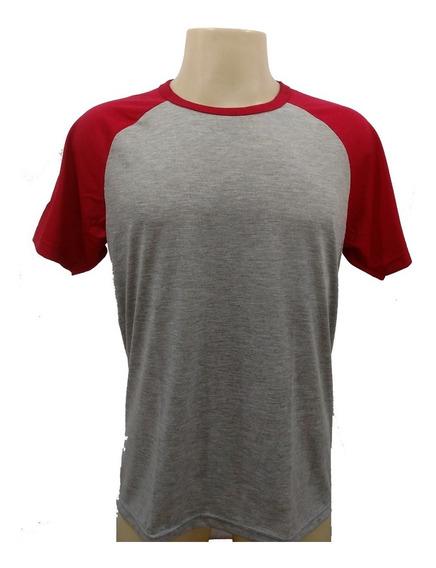 25 Camiseta Raglan Mescla Blusa Poliéster Sublimação Atacado