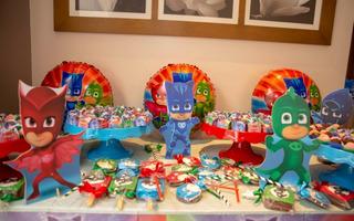 Decoração Completa De Festa Infantil Pj Masks
